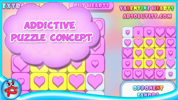Valentine Hearts: Match 3