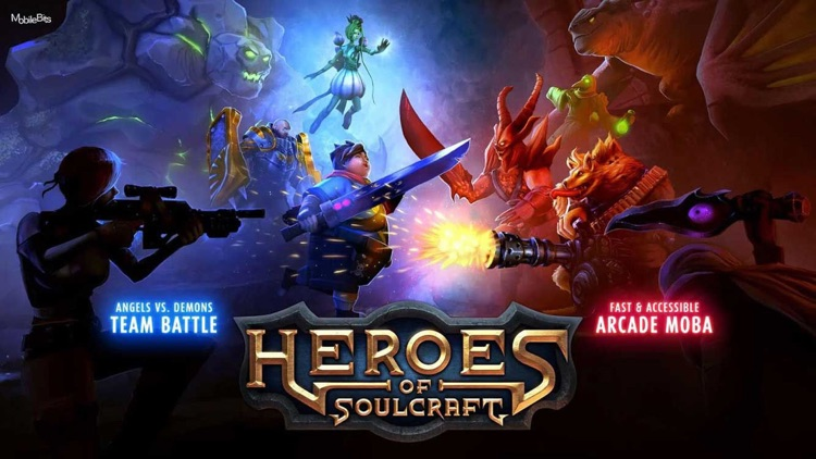 Heroes of SoulCraft - MOBA screenshot-0