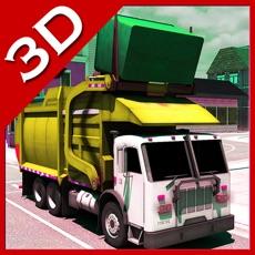 Activities of City Garbage Pickup Truck Driving Simulator