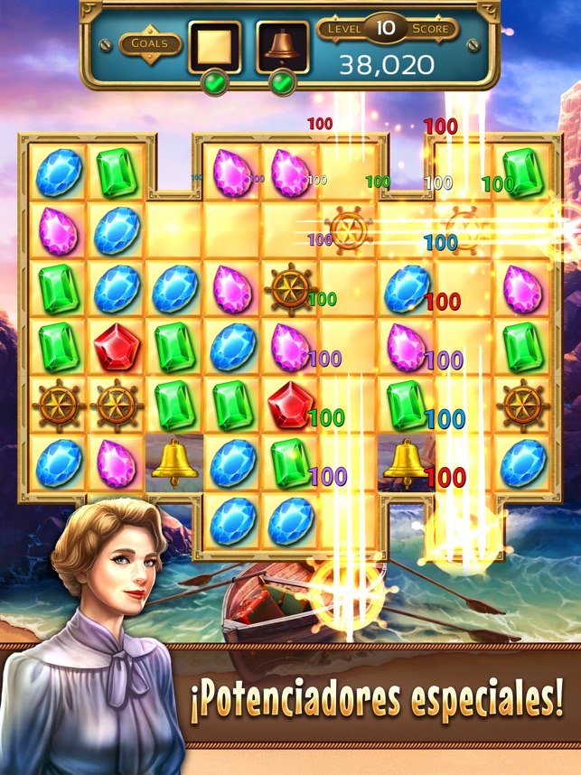 Jewel Quest 7 Seas Match 3 En App Store