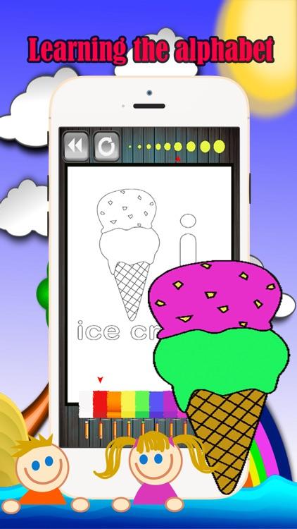 English Alphabet Coloring Book Fun Games For Kids
