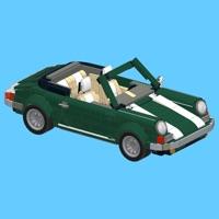 Porsche for LEGO 10242 Set - Building Instructions App