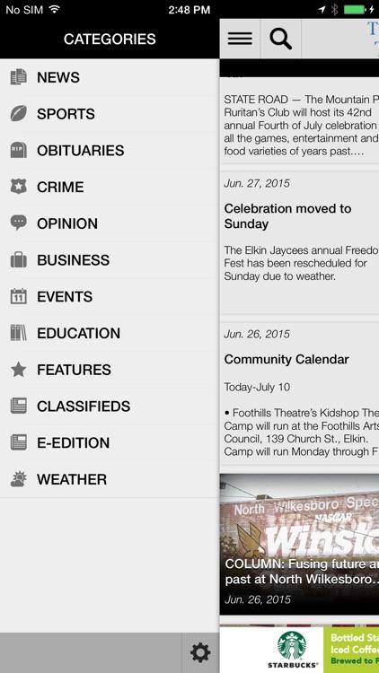 The Elkin Tribune screenshot-3