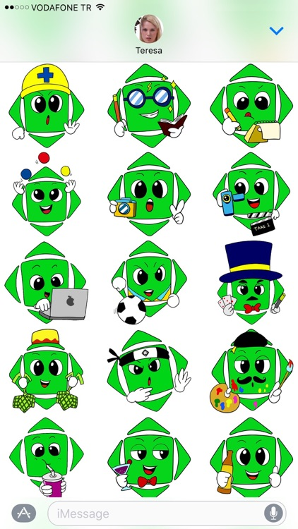 AspectKey Stickers screenshot-3