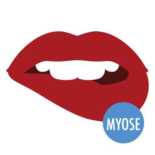 Sexy Lips - MYOSE - Make Your Own Sticker Emoji