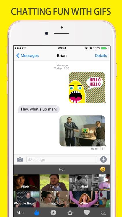 Gif Keyboard Chatting - Adult Emojis gifs Emoticons