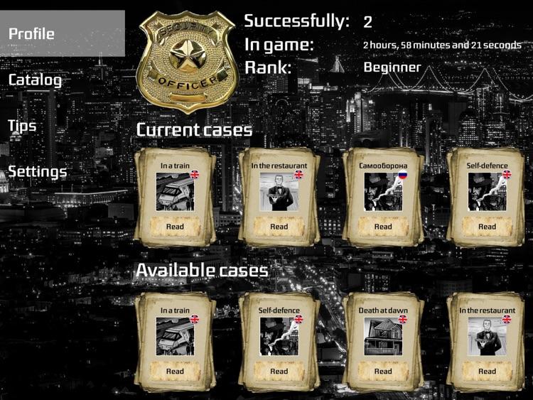 Crime Story - Interactive comics