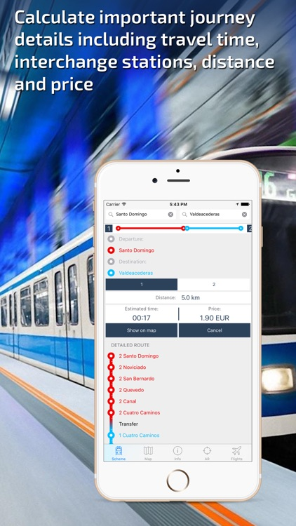 Madrid Metro Guide and Route Planner