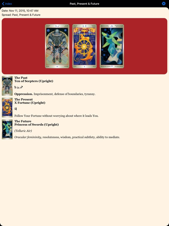Liber T: Tarot Stars Eternal-ipad-3
