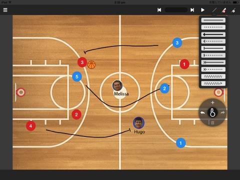 Tableau de jeu de basket-ball
