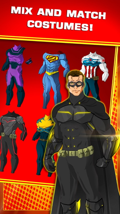 create your own superhero character for free