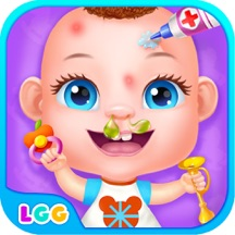 Baby Care Story - Newborn Salon, Food and Dressup Games for Kids