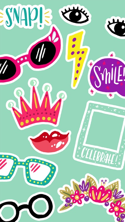Photobooth Stickers