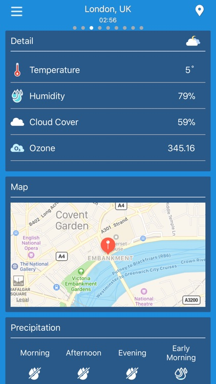 Weather forecast - radar & map screenshot-1