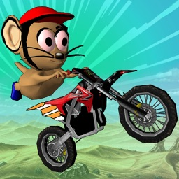 MOTO MOUSE STUNT MANIA - ( 3D DIRT BIKE RACING GAME )