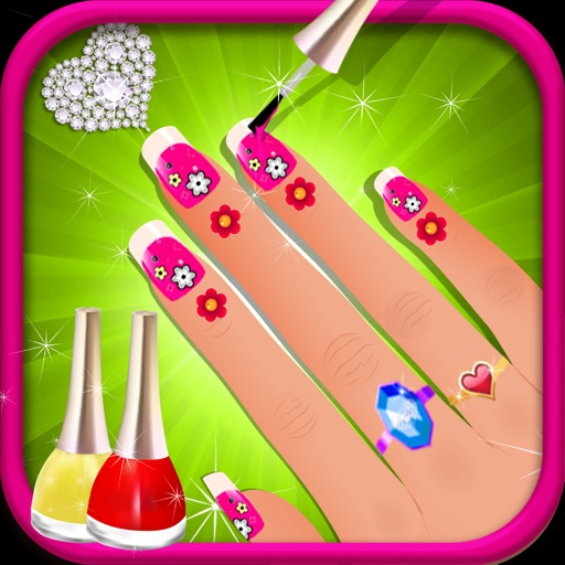 Nail Spa Games: Fancy Nails Manicure Spa Game By