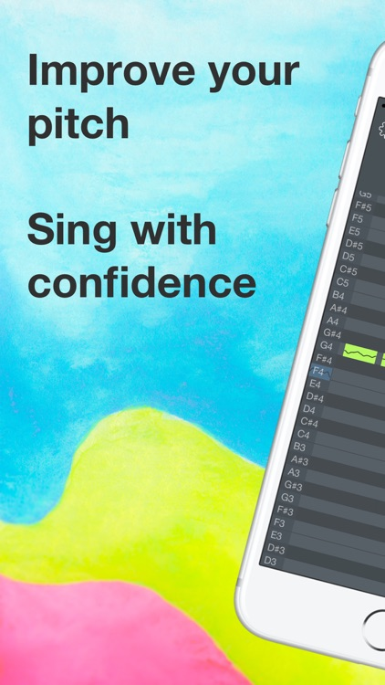 OnPitch - Vocal Pitch Monitor screenshot-0
