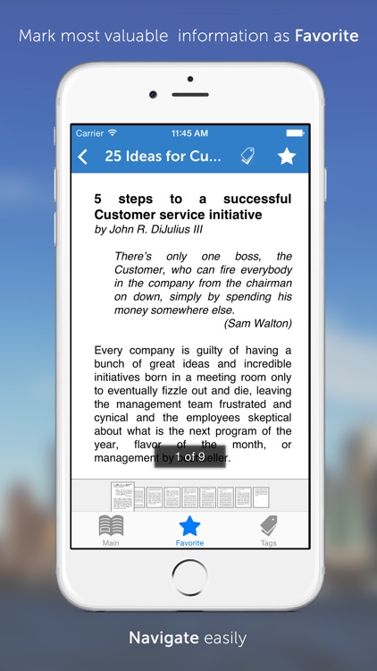 MBA Series: 25 Valuable Ideas in Customer Service screenshot-3