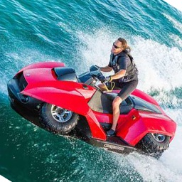 Quad Ski Hydro Thunder - Free JetSki Racing Game