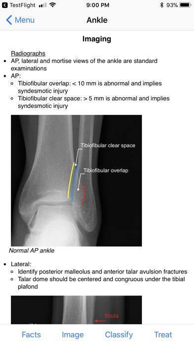 Ortho Traumapedia review screenshots