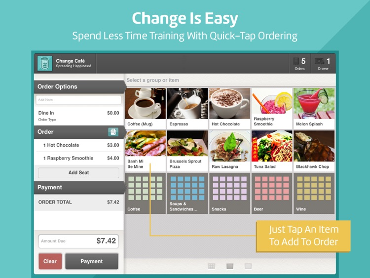 Change : Fast and Easy POS