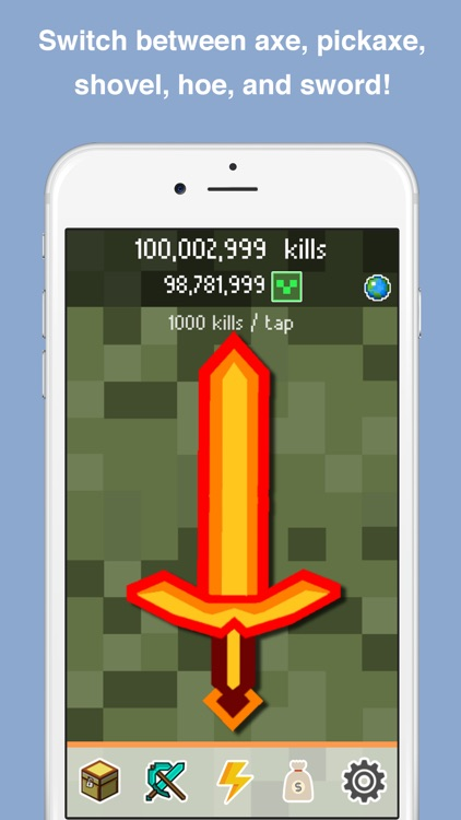 Clickcraft - Pickaxe Block Mining Clicker Game screenshot-4