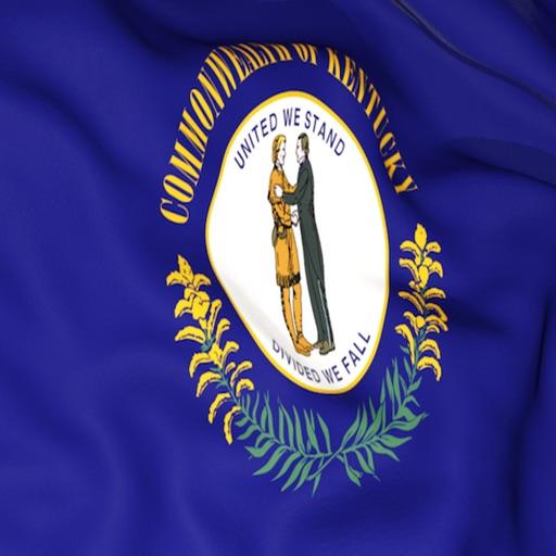 Kentucky Flag Stickers