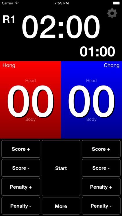 Score TKD