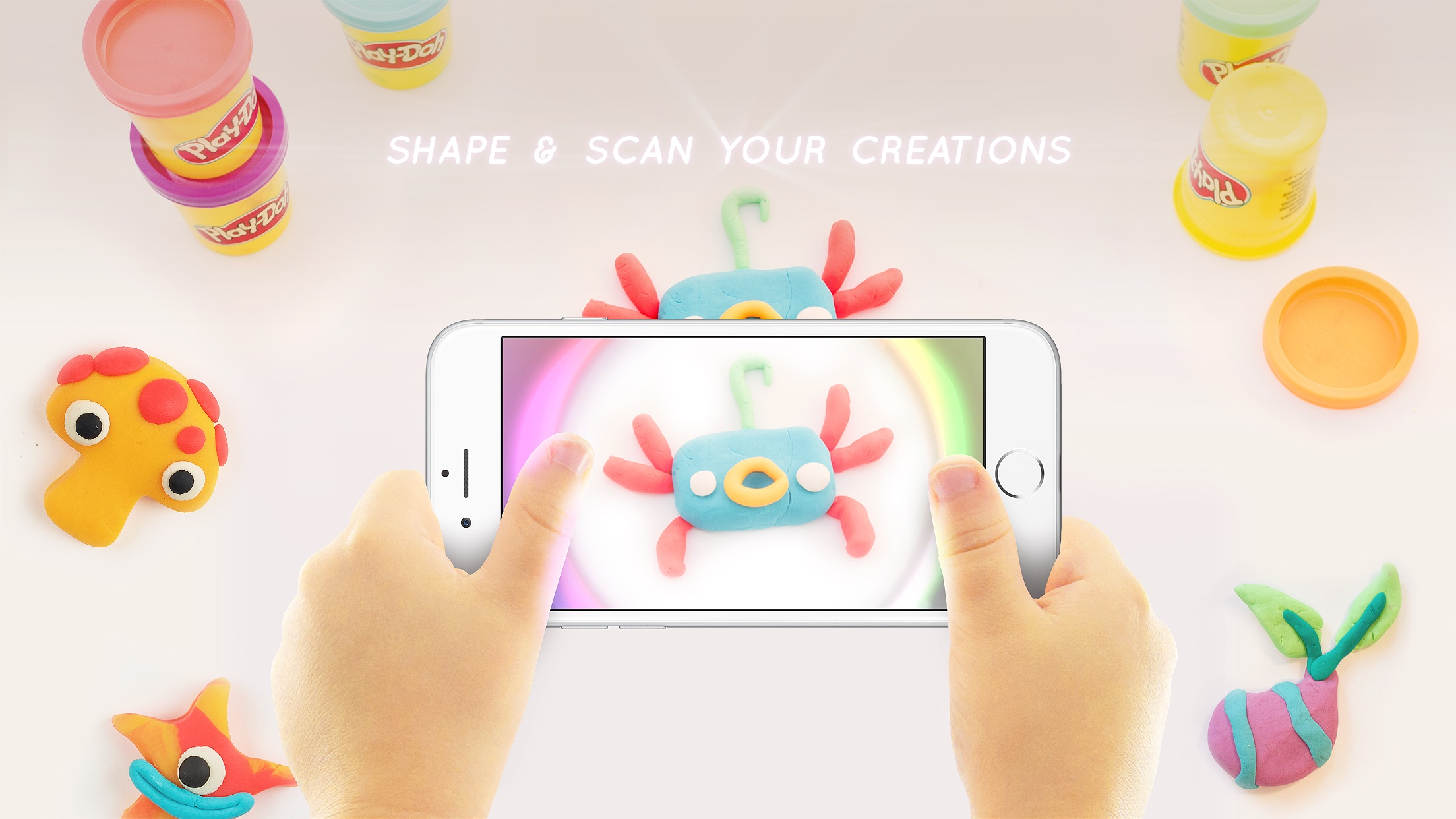 Play-Doh TOUCH - Shape, Scan, Explore Screenshot