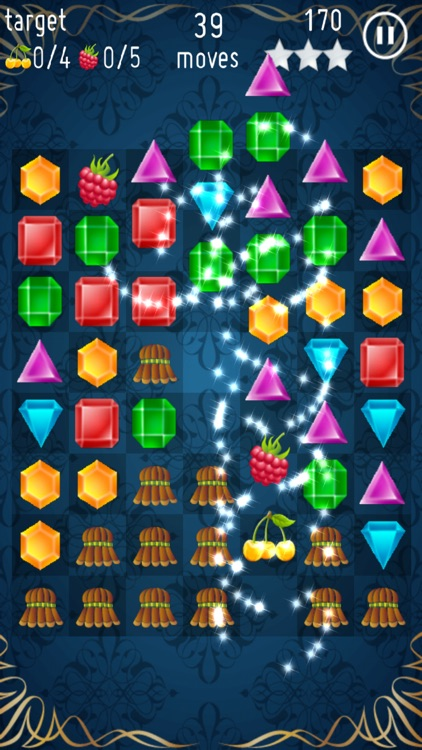 Jewels Crush - Free Game screenshot-1