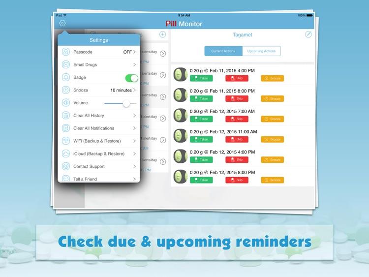 Pill Monitor Pro for iPad screenshot-4