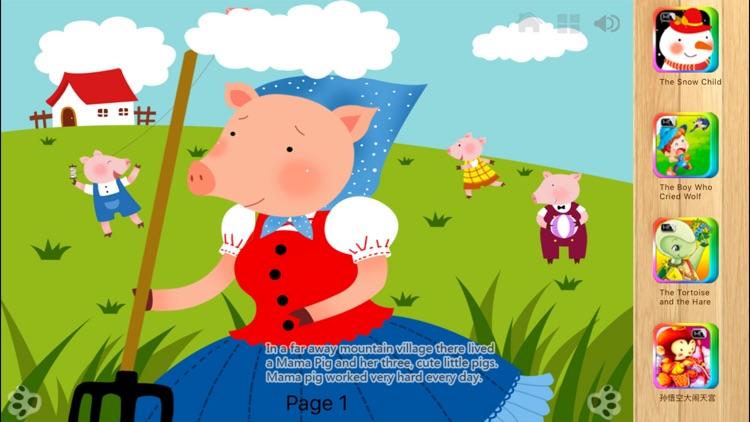 Three Little Pigs - iBigToy screenshot-4