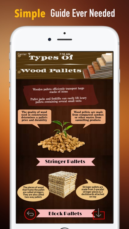 Wood Pallets:Projects Creating Guide and Tips screenshot-1
