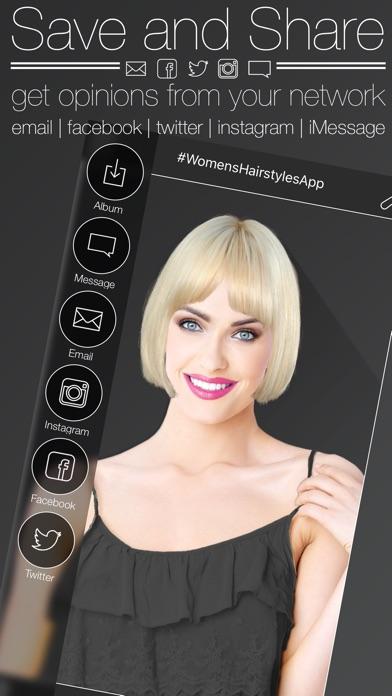 Women's Hairstyles Screenshot 5