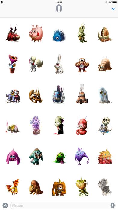 Dungeon Petz Stickers