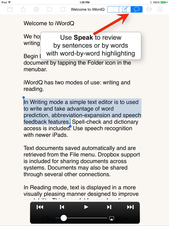 iWordQ US screenshot-1