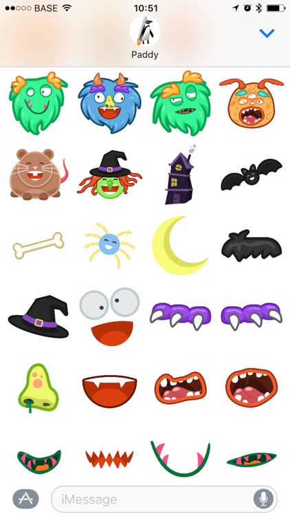 Wee Monster Stickers