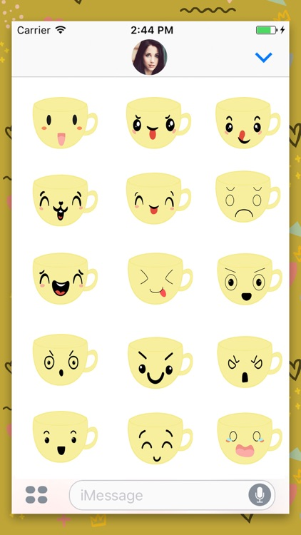 Coffee Cup : Animated Stickers
