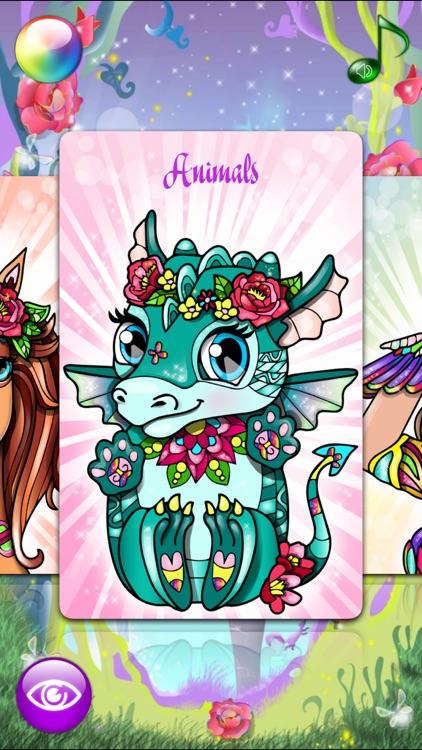 Magic Pony Coloring Book for Adults My Little Art screenshot-4