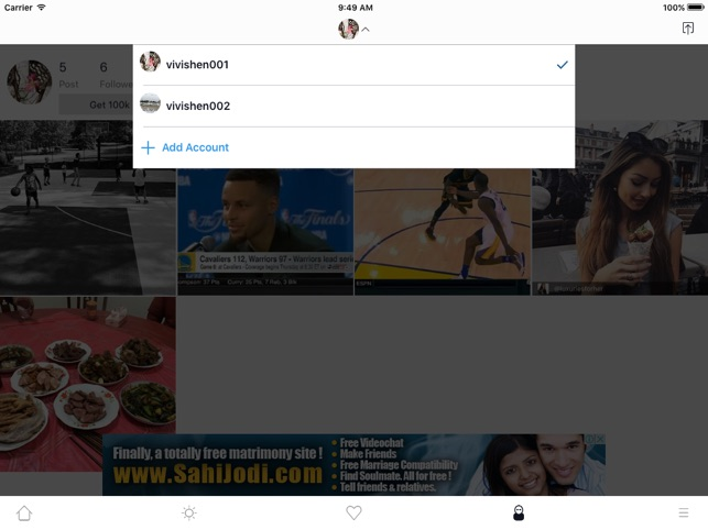 InstaSaver-Repost Photos and Videos For Instagram Screenshot