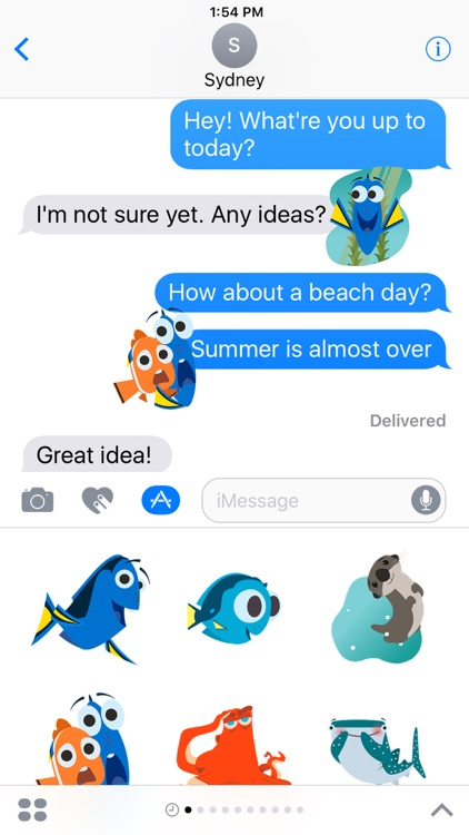 Disney Stickers: Finding Dory screenshot-0