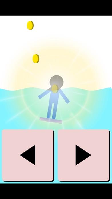 ビート板の上に立つゲーム紹介画像3