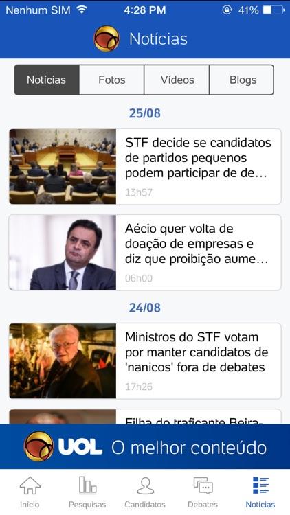UOL Eleições 2016 - Candidatos e apuração de votos screenshot-3