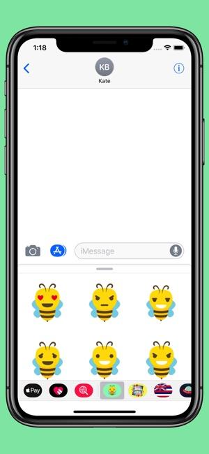 Bee emoji - Animal smiley pack