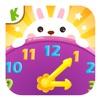 宝宝学习时间:认识数字,时钟结构儿童拼图早教游戏