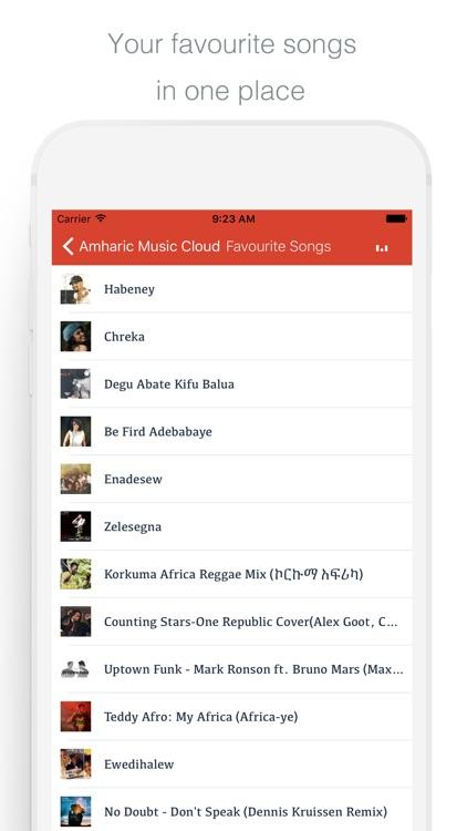 Amharic Music Cloud - Enjoy Amharic Songs screenshot-3