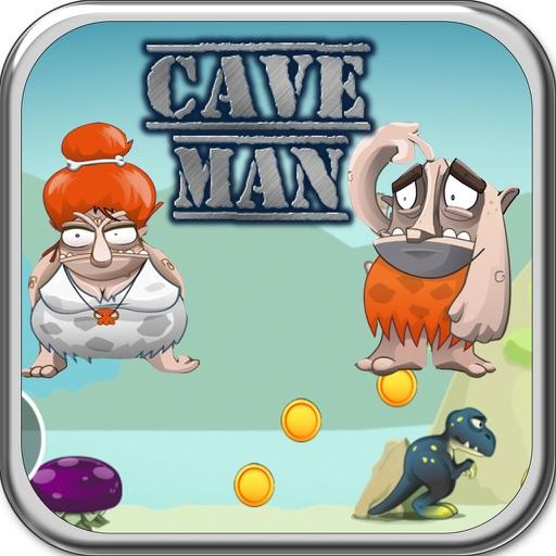 Adventure Running Game Cave man