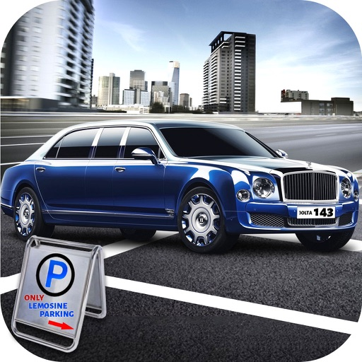 Real Limousine Parking : City Driv-e Sim-ulator