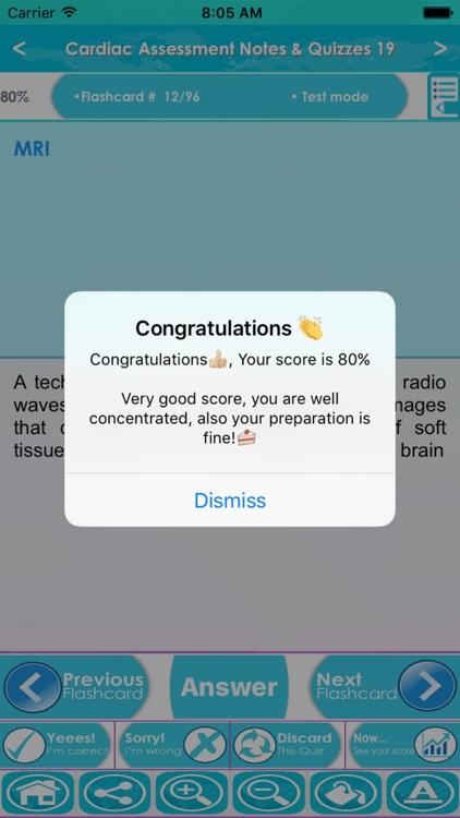 Cardiac Assessment Exam Review App- Q&A & concepts screenshot-4