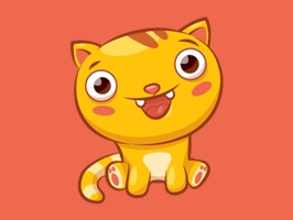 Let Jinx the cat help you express yourself with this collection of cute kitty cat stickers